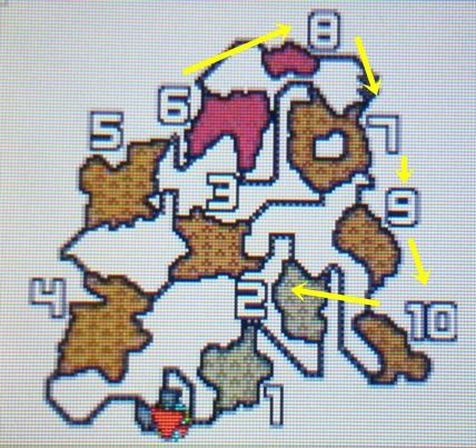 火山マップ